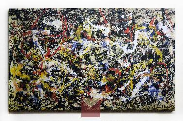 Canvas en bastidor, Jackson Pollock Enmarcado de laminas