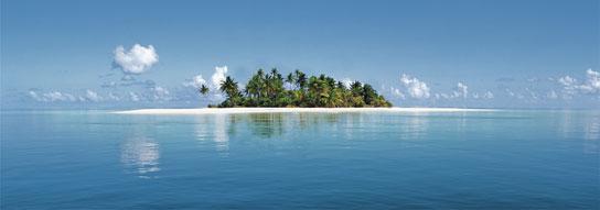 Poster para pared - Maldivie island