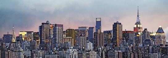 Poster para pared - Manhattan skyline Enmarcado de cuadros