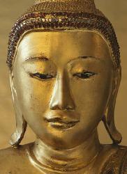 Poster para pared - Golden Buddha Enmarcado de cuadros