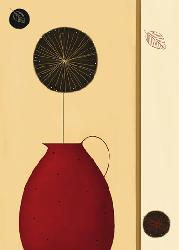 Poster para pared - The red pitcher Marcos y Cuadros