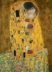 Poster para pared - The kiss Enmarcado de laminas