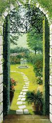 Poster para pared - Vista dal porticao Marcos y Cuadros