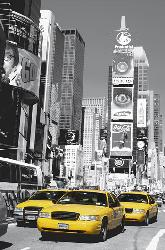 Poster para pared - Time square Marcos y Cuadros