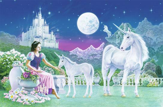 Poster para pared - Unicorn princess