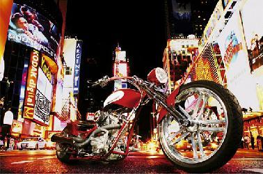 Poster para pared - Mid night rider Marcos y Cuadros