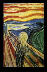 Poster - Scream Enmarcado de laminas