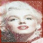 Poster - Written Marilyn Enmarcado de laminas