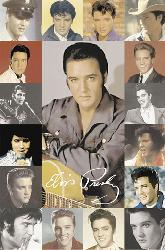 Poster - Elvis Presley composite Enmarcado de cuadros