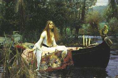 Poster - The lady of shalott Enmarcado de laminas