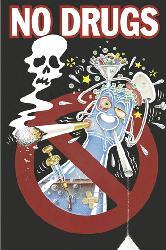 Poster - No Drugs Enmarcado de cuadros