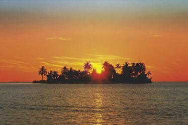 Poster - Sunny island Enmarcado de cuadros