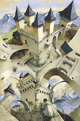 Poster - Castle of ilusion Enmarcado de laminas