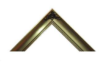 Batea 4 cm Hoja Oro c|aplique Marcos y Cuadros