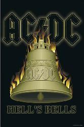 Poster - ACDC Hells Bells Enmarcado de cuadros