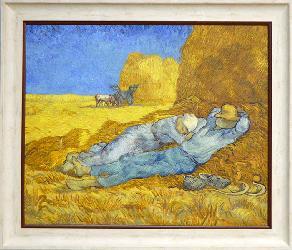 Cuadro La siesta Van Gogh Enmarcado de laminas