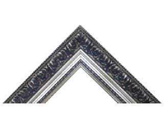 Batea frizada 90 mm policromada oro Marcos y Cuadros
