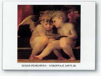 Lamina - Madonna e Santi Enmarcado de laminas