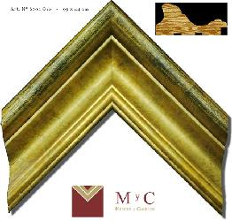 6001 oro Marcos y Cuadros
