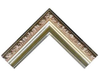Batea frizada 90 * 50 mm plata Enmarcado de cuadros