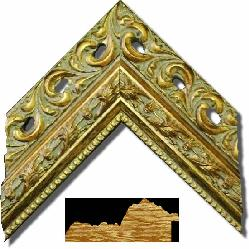 6011 Oro Enmarcado de cuadros