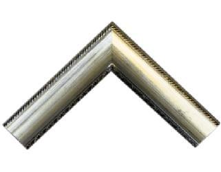 Batea 70 mm c|frizas plata Marcos y Cuadros