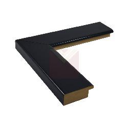 chata 5 cm negra brillante                   Enmarcado de cuadros