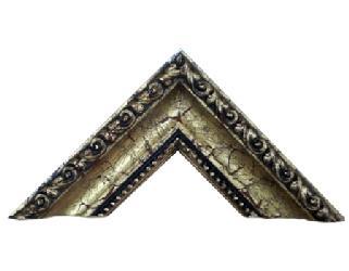 Batea 65*40 mm cordon y perla oro antiguo Marcos y Cuadros