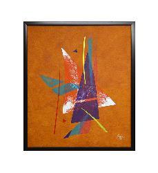 Abstracto Naranja Marcos y Cuadros