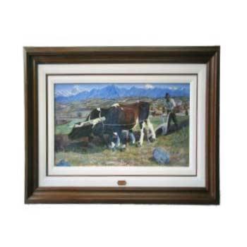 Enmarcado de cuadros cuadros cuadro arando for Enmarcado de cuadros precios