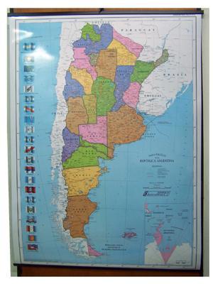 Enmarcado de cuadros mapas mapa argentina politico for Enmarcado de cuadros precios