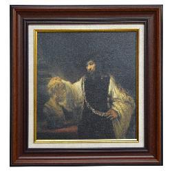 CUADRO Aristoteles contemplando el busto de Homero Enmarcado de cuadros
