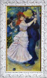 CUADRO Baile en Bougival RENOIR Enmarcado de laminas