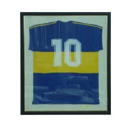 Enmarcado de Camiseta Boca del 81 Enmarcado de laminas