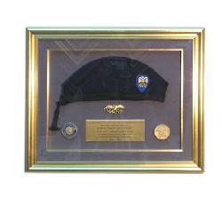 Enamarcado Boina, medallas y pin Enmarcado de laminas