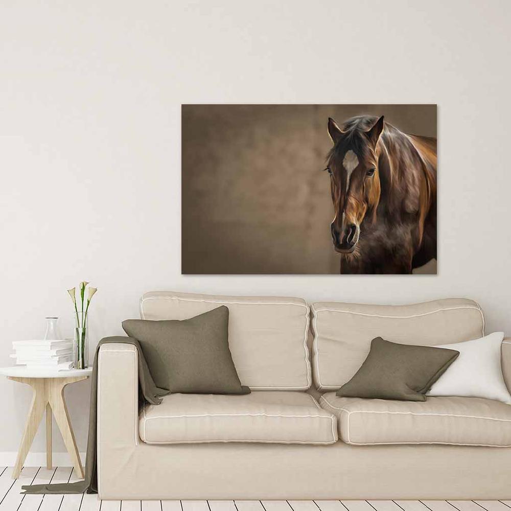 cuadro canvas caballo