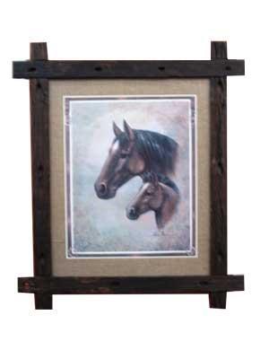 Enmarcado de cuadros cuadros cuadro horses for Enmarcado de cuadros precios