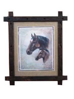 Cuadro - Horses Enmarcado de cuadros