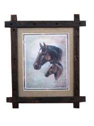 Cuadro - Horses Marcos y Cuadros