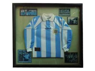 Enmarcado de Camiseta Argentina Marcos y Cuadros