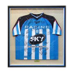 Enmarcado de Camiseta de Racing Enmarcado de laminas