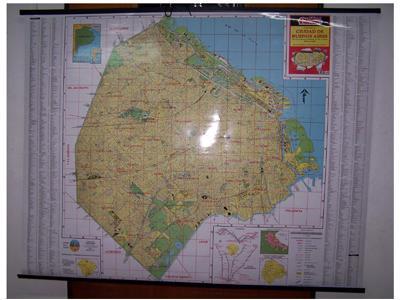 Mapa - Ciudad de Buenos Aires