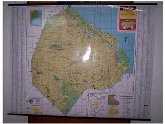 Mapa - Ciudad de Buenos Aires Enmarcado de cuadros