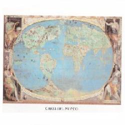 Lamina - Carta del Mondo Enmarcado de laminas