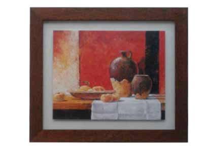 Enmarcado de laminas cuadros cuadros naturaleza muerta i for Cuadros comedor originales