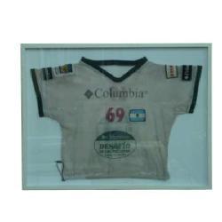 Enmarcado de Camiseta Columbia Enmarcado de laminas