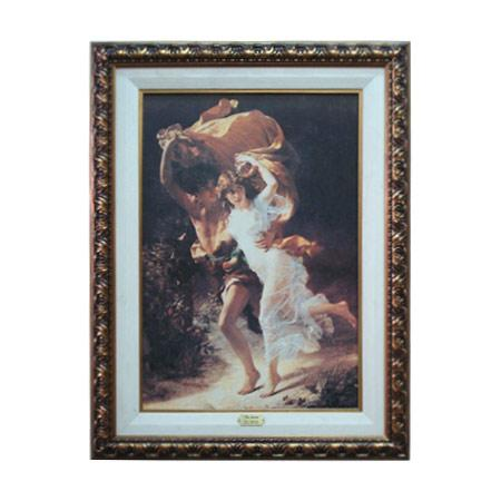 Enmarcado de laminas cuadros cuadro la tormenta for Enmarcado de cuadros precios
