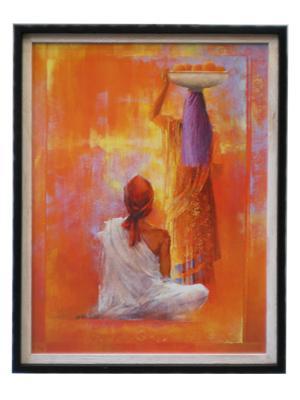Enmarcado de laminas cuadros cuadro kerala for Enmarcado de cuadros precios