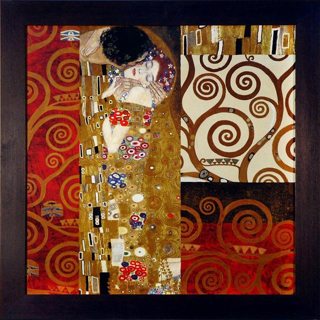 Enmarcado de cuadros cuadros cuadro el beso - Enmarcado de cuadros ...