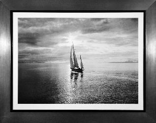 Cuadro - Diamond Head in Swiftsure Race Enmarcado de cuadros